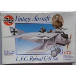 Airfix aereo L.F.G. Roland C-11 1911 1/72 1987