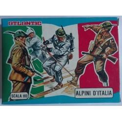 Soldatini Atlantic 9002 Alpini d'Italia H0