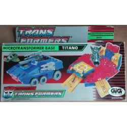 Transformers Autorobot Microtransformers Base Titano 1988
