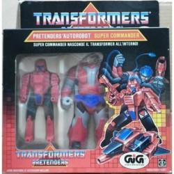 Transformers G1 Pretenders Autorobot Super Commander