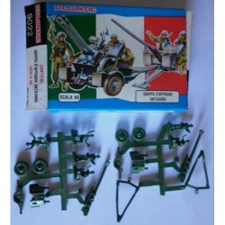 Soldatini Atlantic 9022 Gruppo d'appoggio anticarro H0