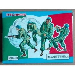 Soldatini Atlantic 9004 Paracadutisti d'Italia H0