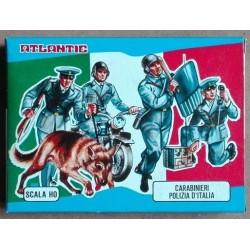 Soldatini Atlantic 9003 Carabinieri Polizia d'Italia H0