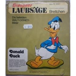 Walt Disney personaggio Paperino traforo in legno
