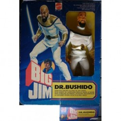 Mattel Big Jim personaggio Dr. Bushido 1980