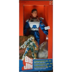 Mattel Big Jim personaggio Commander 1984