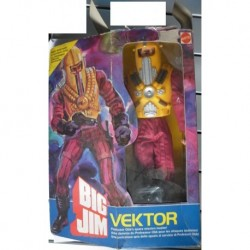 Big Jim Vektor Professor Obb Space Mission Master 1984