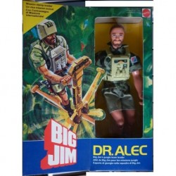 Mattel Big Jim personaggio Dr. Alec 1984