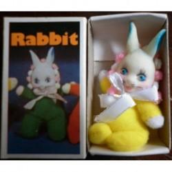 Pupazzo fiammiferino Coniglio giallo