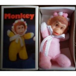 Pupazzo fiammiferino Scimmia rosa