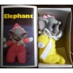Pupazzo fiammiferino Elefante giallo