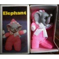 Pupazzo fiammiferino Elefante rosa