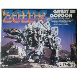 Zoids robot Great Gorgon 1984