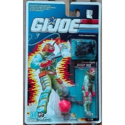 Gi Joe personaggio Deep Six 1990