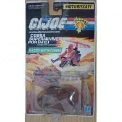Gi Joe Cobra superminiveicoli portatili razzo-slitta 1989