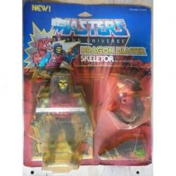 Motu Masters of the Universe Dragon Blaster Skeletor 1985