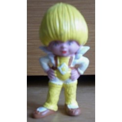 Iridella Rainbow Brite Canary Yellow miniatura PVC 1983