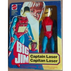 Mattel Big Jim personaggio Capitan Laser 1980