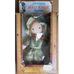 Knickerbocker Holly Hobbie bambola pezza Amy 1976