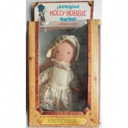 Knickerbocker Holly Hobbie bambola pezza Heather 1976