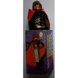 Personaggio Capitan Harlock Herlock Albator flessibile