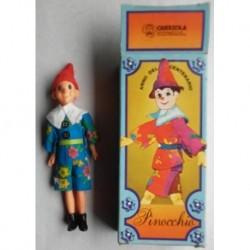 Querzola bambola pupazzo Pinocchio 1981