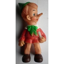 Pupazzo Pinocchio gomma Ledraplastic