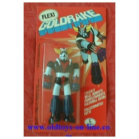 Personaggio Goldrake Goldorak Grendizer flessibile blister