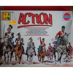 Soldatini A-Toys 1815 cavalleria pesante inglese e francese 1/72