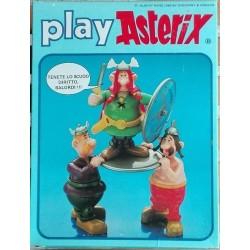 Goscinny & Uderzo Asterix personaggio Abraracourcix e portantini