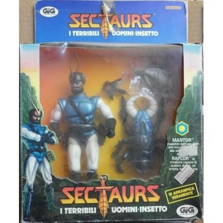 Sectaurs I terribili uomini insetto Mantor e Raplor 1984