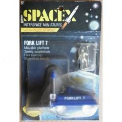 Triang Spacex Fork lift 7 con astronauta dorato