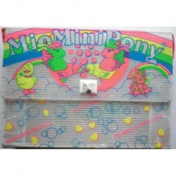 MLP Mio Mini Pony My Little Pony valigetta trasparente
