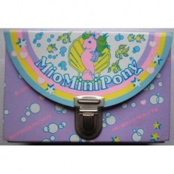 MLP Mio Mini Pony My Little Pony borsetta viola 1985