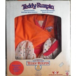 Pupazzo peluche Teddy Ruxpin pigiama 1985