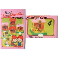 Playset Fragol Cottage serie Fragolandia TV 1982