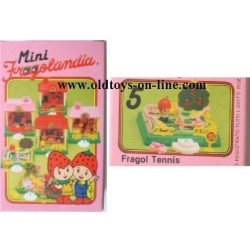 Playset Fragol Tennis serie Fragolandia TV 1982