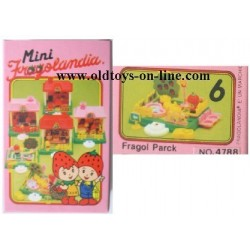 Playset Fragol Park serie Fragolandia TV 1982