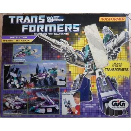 Transformers Iperbot SixShot 6 azioni 1986