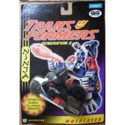 Transformers G2 Motolaser Ninja Molock 1994