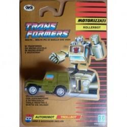 Transformers Rollerbot Autorobot Trollbot Rollbar 1990