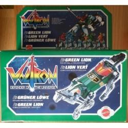 Mattel Voltron robot Leone verde 1984