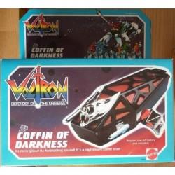 Voltron veicolo Coffin of Darkness 1984