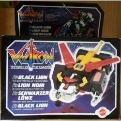Mattel Voltron Robot leone nero 1984