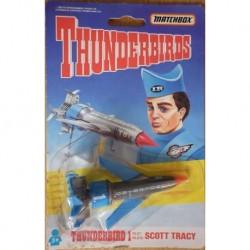 Thunderbirds veicolo Thunderbird 1 pilota Scott Tracy 1992