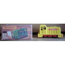 Matchbox locomotiva Diesel Shunter metallo 1977