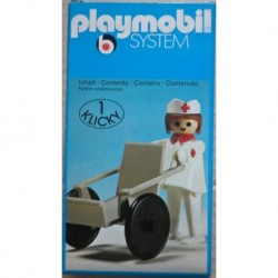 Playmobil 3362 infermiera 1974
