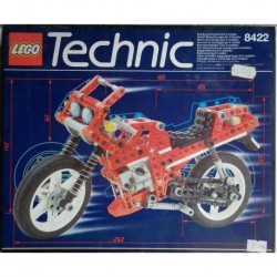 Lego Technic Circuit Shock racer - V-twin super bike 1995