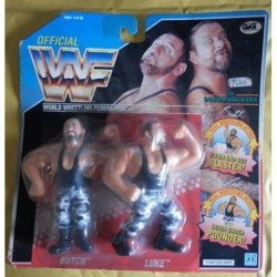 WWF personaggi Wrestling Bushwhackers Butch e Luke 1990