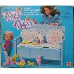 Famiglia Cuore Heart Family - Cassapanca con giocattoli